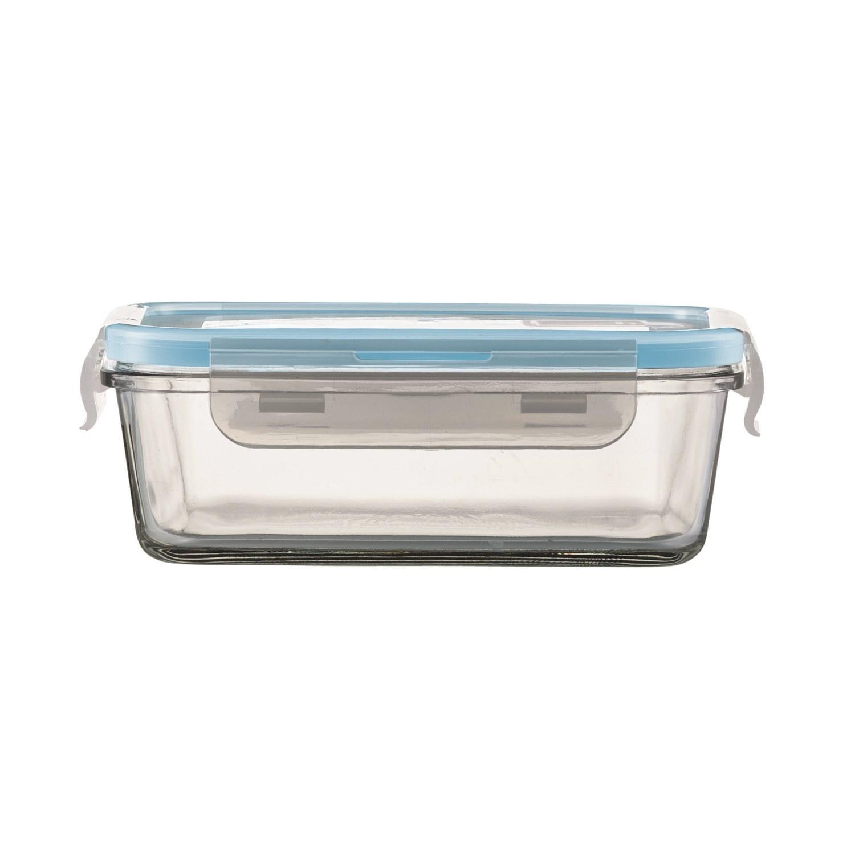 jenaer glas multifunktionsdose mit deckel 850 ml rechteckig auflaufform ebay. Black Bedroom Furniture Sets. Home Design Ideas