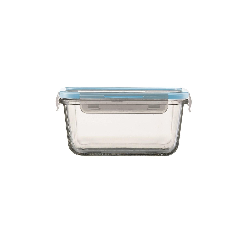 jenaer glas multifunktionsdose mit deckel 550 ml quadratisch auflaufform ebay. Black Bedroom Furniture Sets. Home Design Ideas