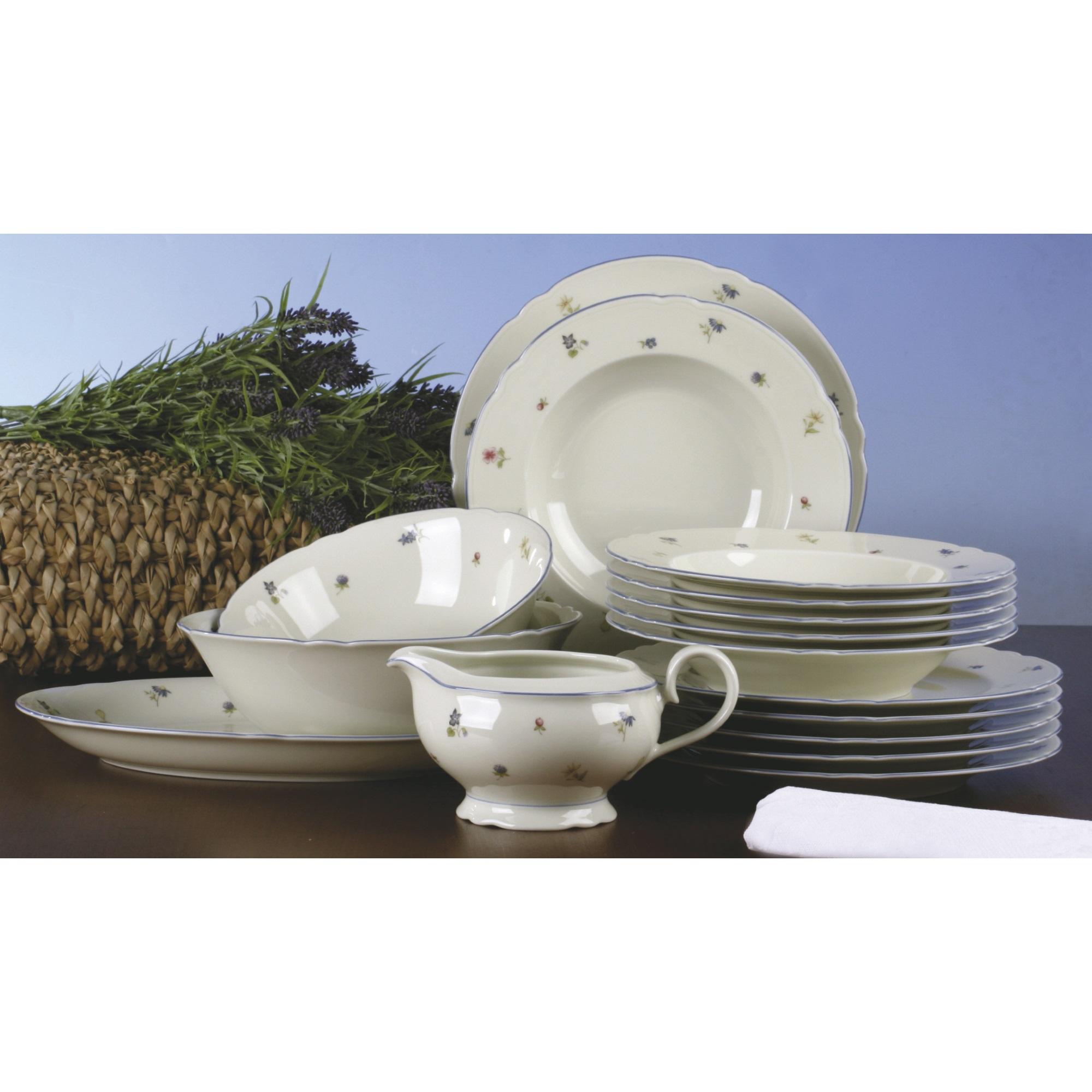seltmann weiden marie luise 30308 streublume tafelservice 16 teilig ebay. Black Bedroom Furniture Sets. Home Design Ideas