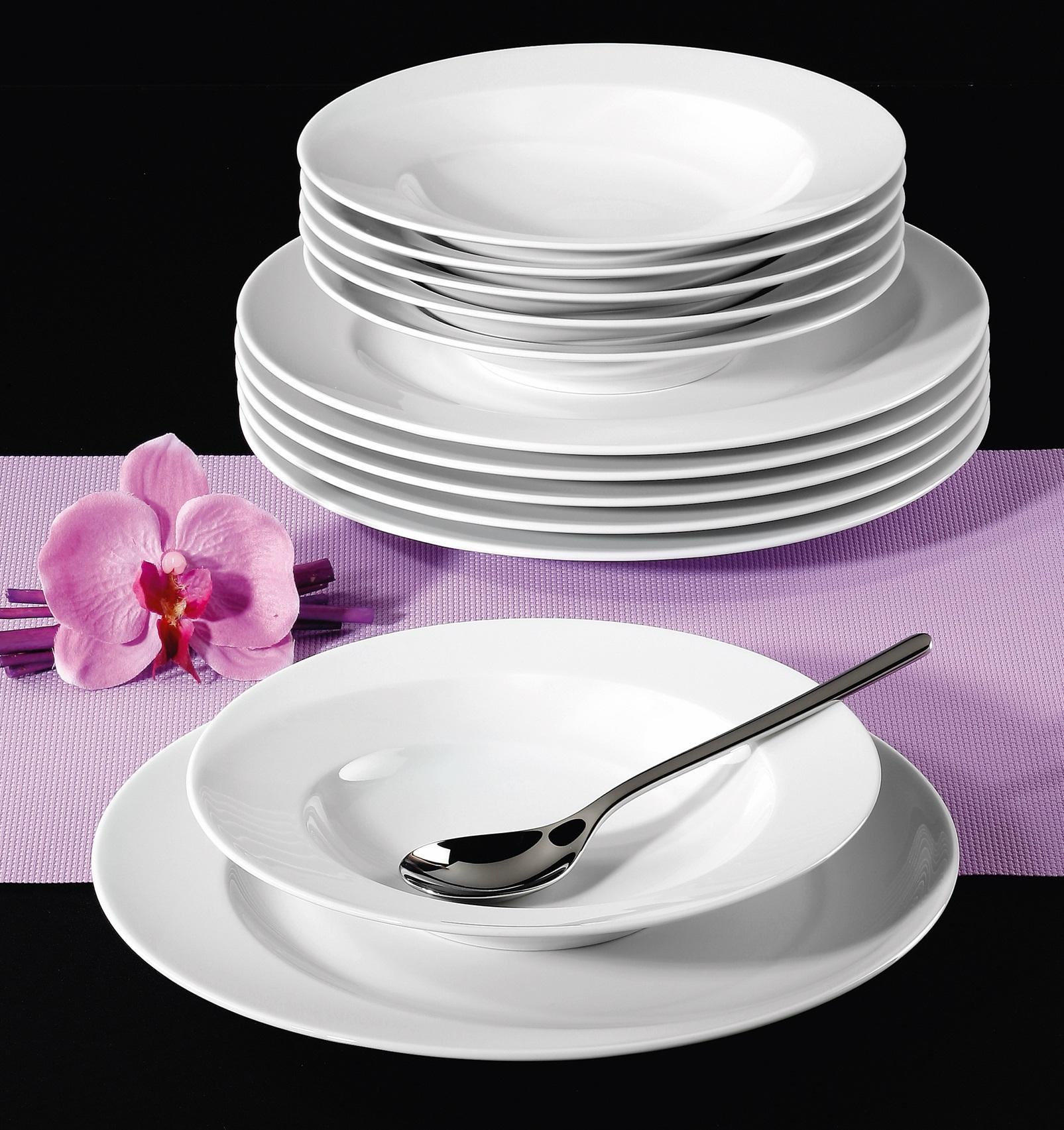 seltmann weiden paso 03 tafelservice 12 teilig f rund ebay. Black Bedroom Furniture Sets. Home Design Ideas
