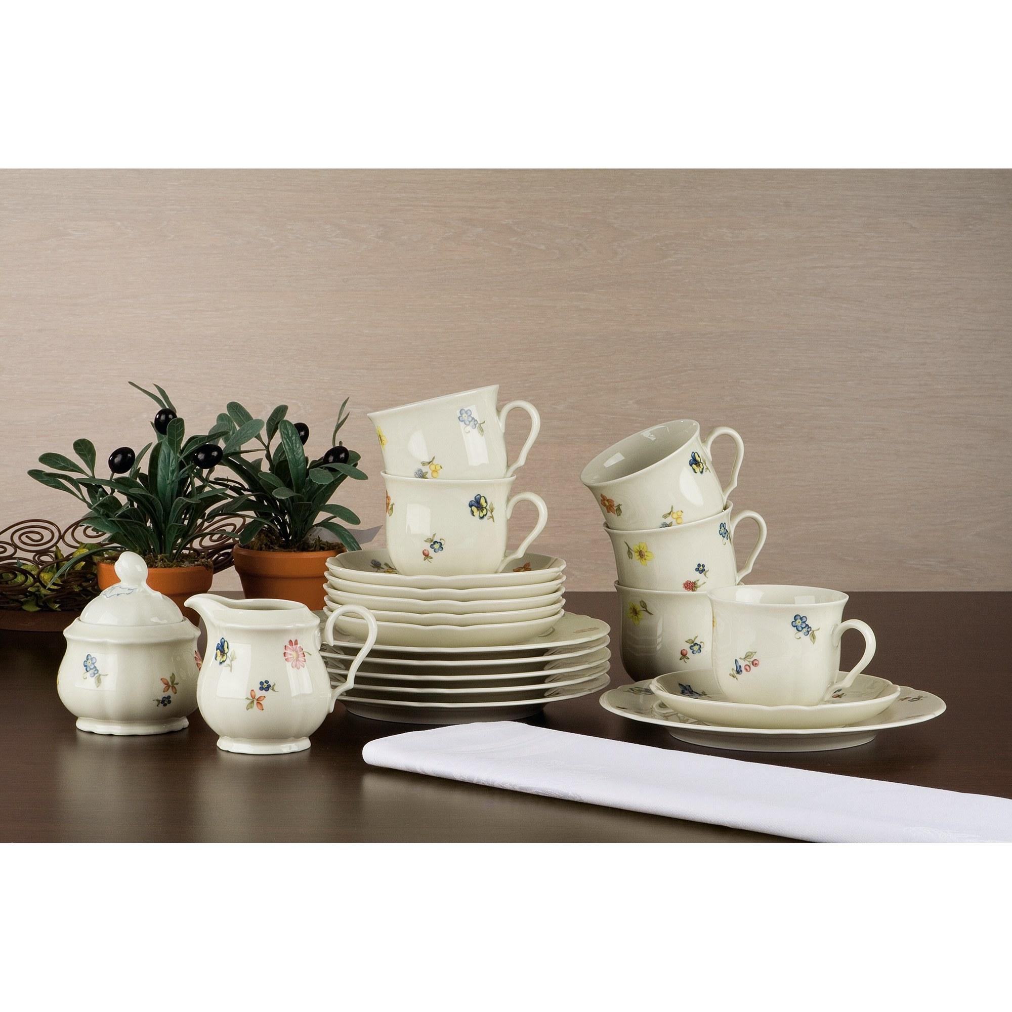 seltmann weiden marie luise elfenbein 44714 kaffeeservice 20 teilig ebay. Black Bedroom Furniture Sets. Home Design Ideas