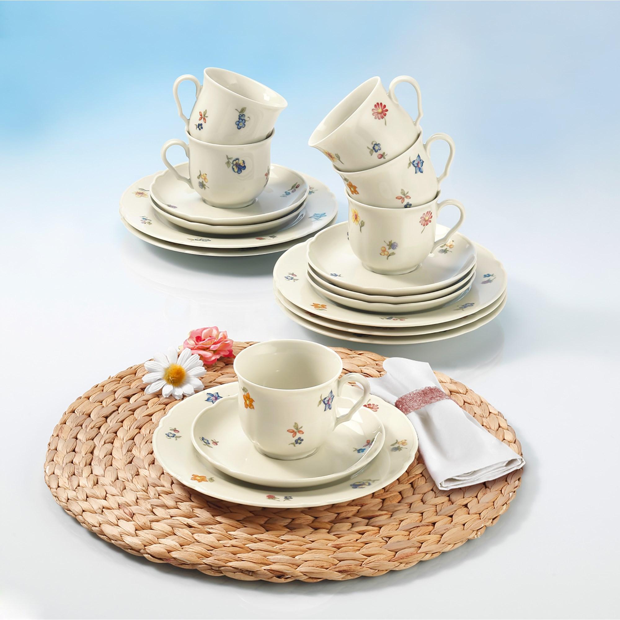seltmann weiden marie luise elfenbein 44714 kaffeeservice 18 teilig ebay. Black Bedroom Furniture Sets. Home Design Ideas