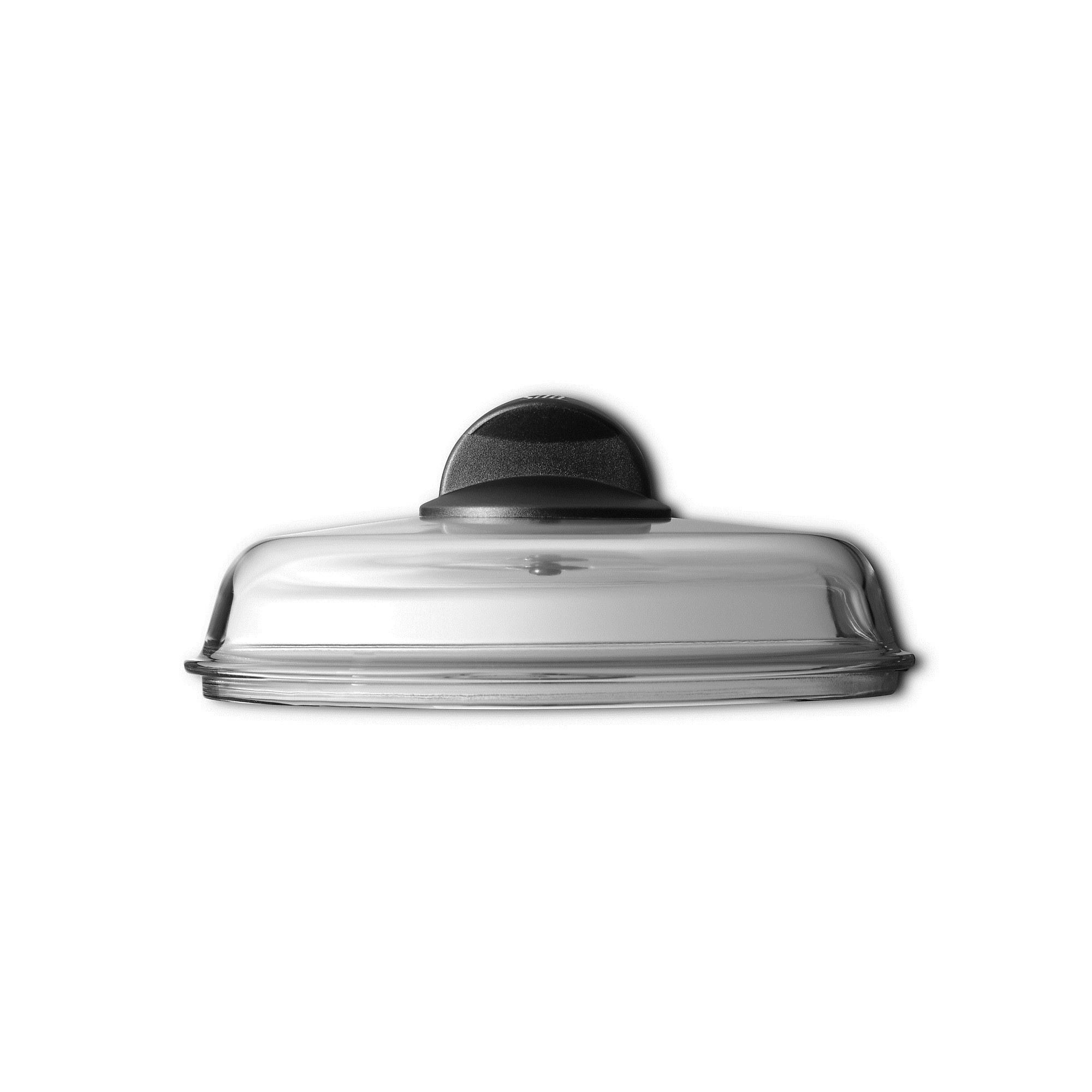 silit glasdeckel f r pfannen 24 cm kunststoffknauf ebay. Black Bedroom Furniture Sets. Home Design Ideas