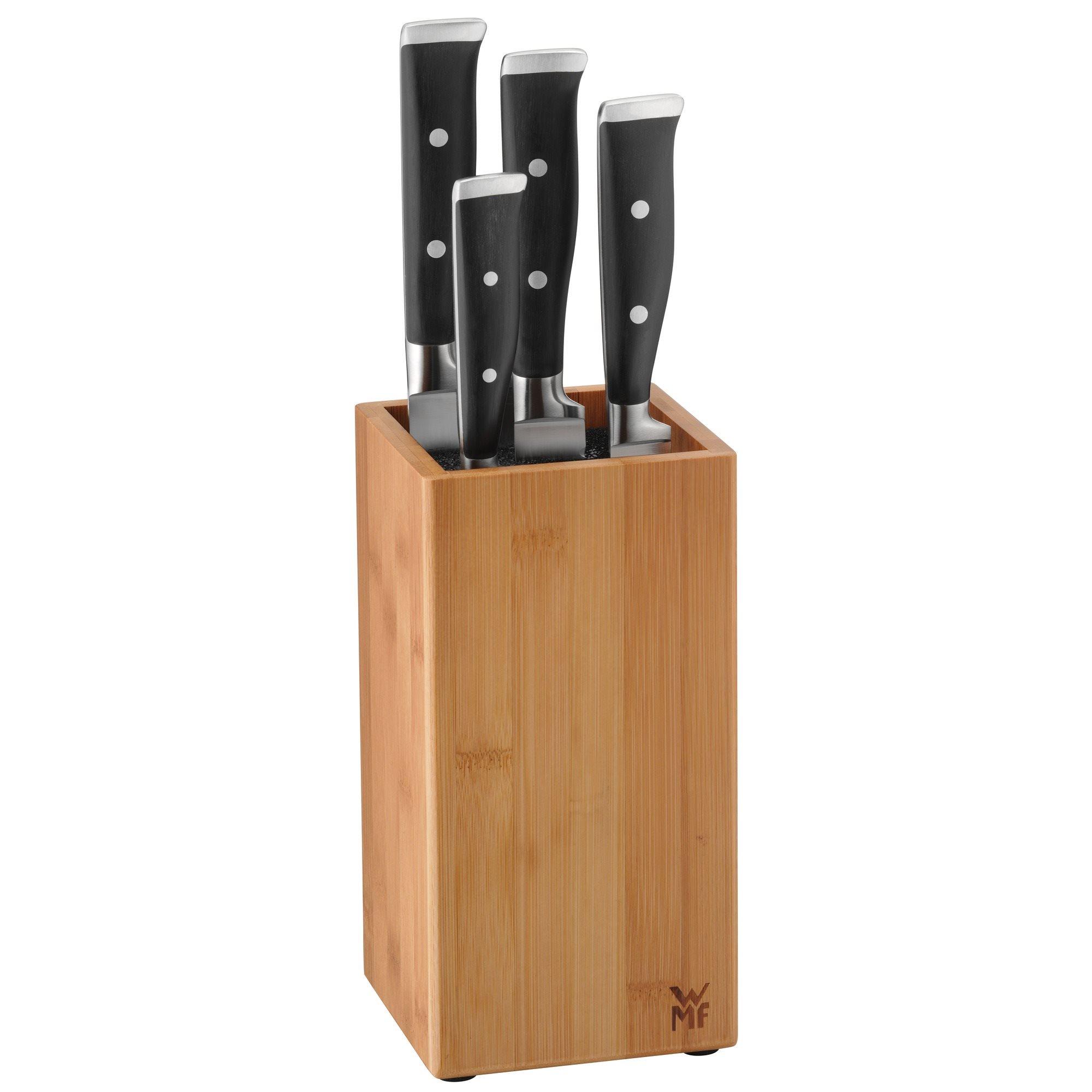 wmf messer set grand class 5 teilig messerblock performance cut ebay. Black Bedroom Furniture Sets. Home Design Ideas