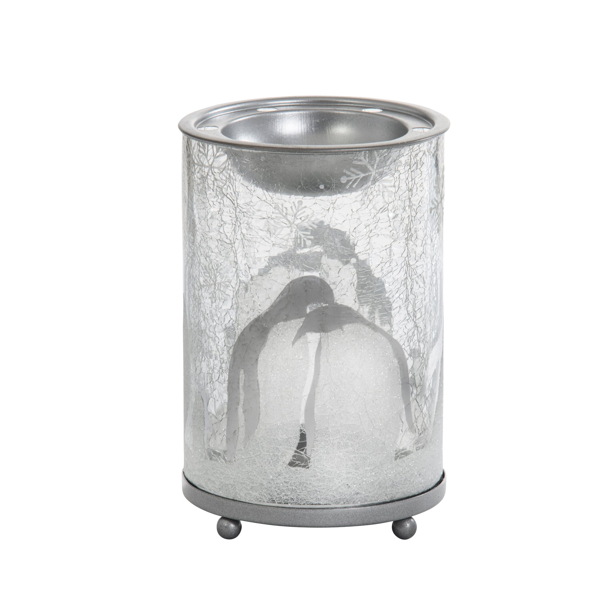 yankee candle melt warmer penguin crackle duftlampe ebay. Black Bedroom Furniture Sets. Home Design Ideas