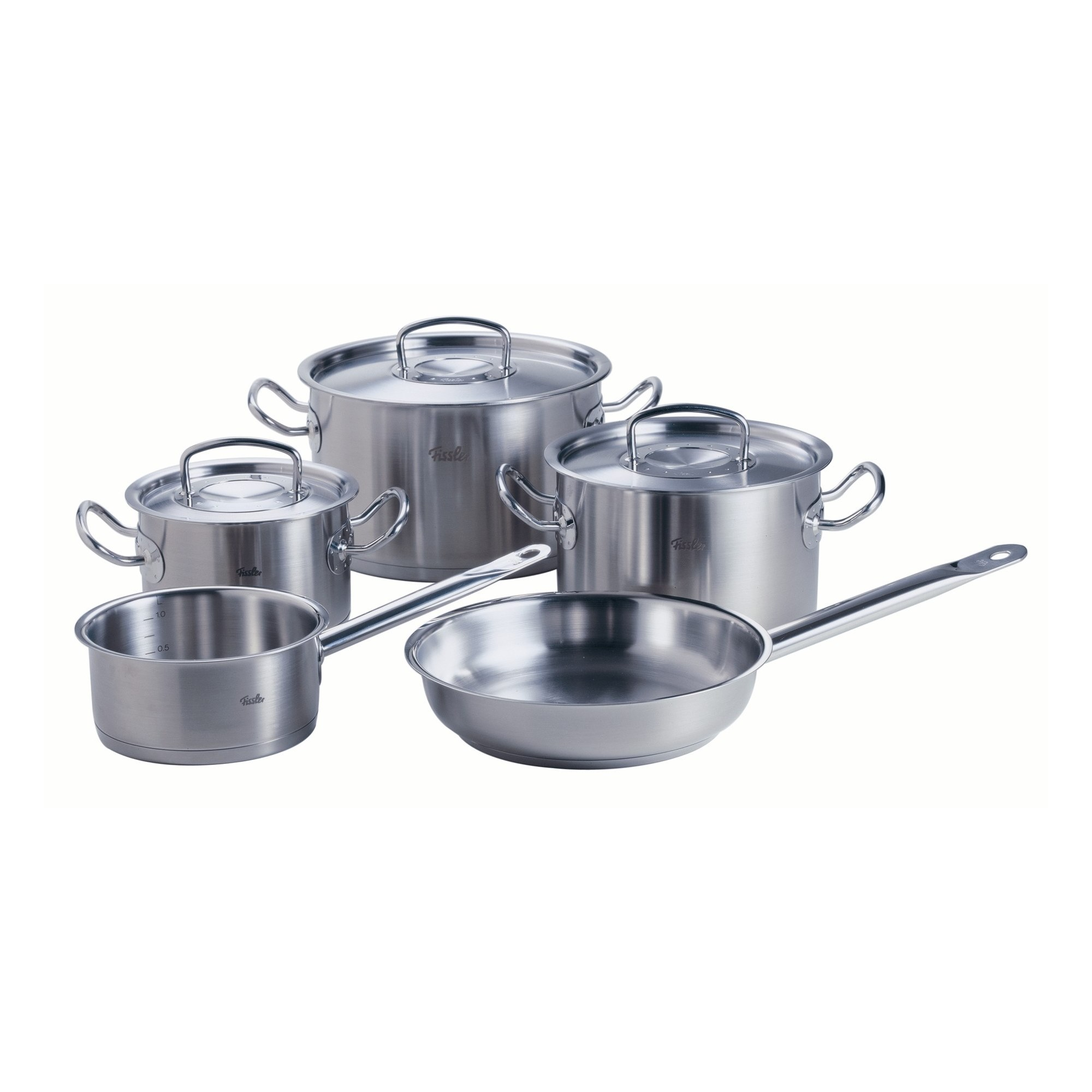 fissler topf set original profi collection 5 teilig mit pfanne ebay. Black Bedroom Furniture Sets. Home Design Ideas