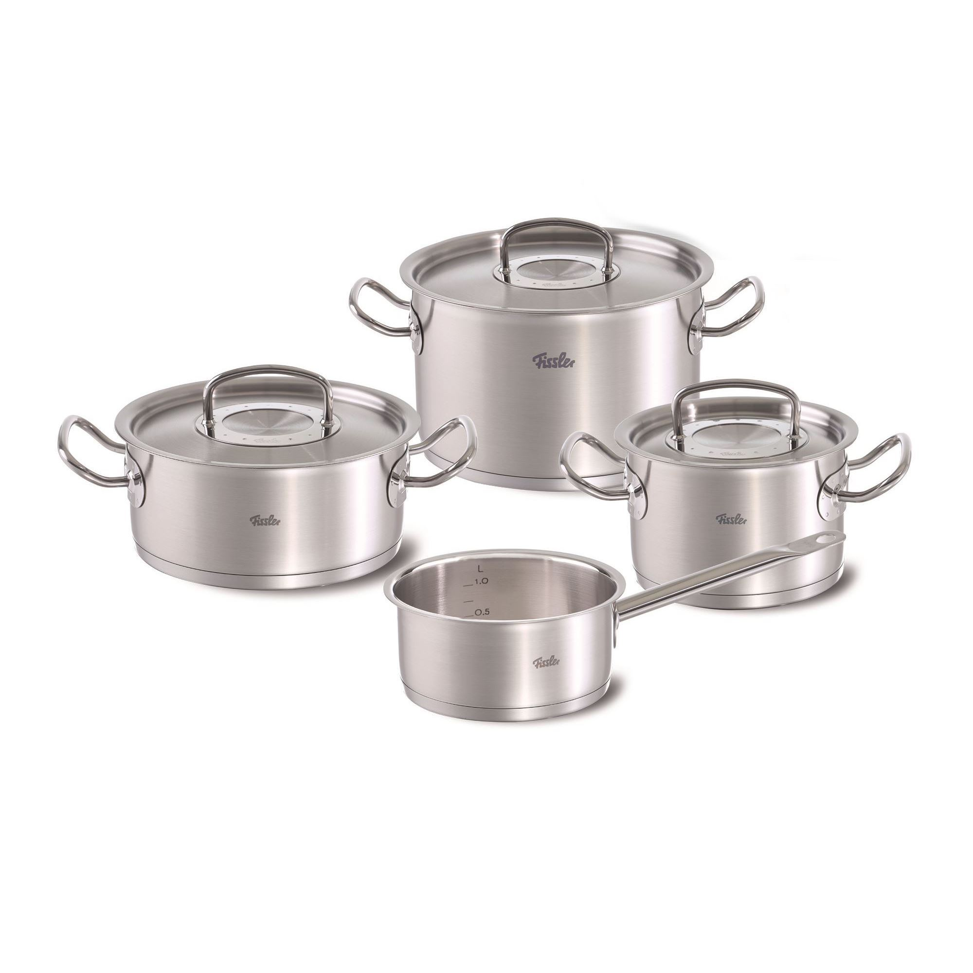 fissler profi collection topfset 1a neuware fissler original profi collection pot set 4 pieces. Black Bedroom Furniture Sets. Home Design Ideas