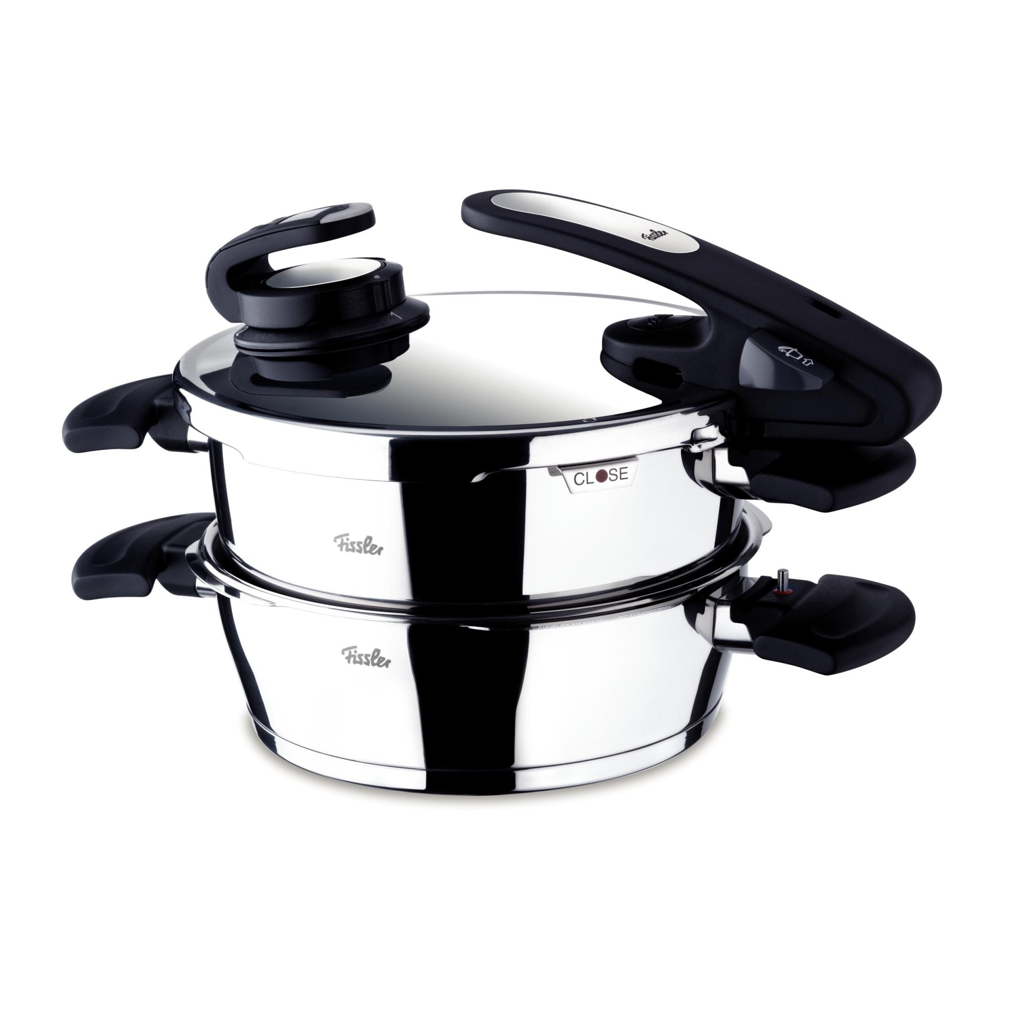 fissler schnellkochtopf vitavit edition 4 5 2 5 liter im set ebay. Black Bedroom Furniture Sets. Home Design Ideas
