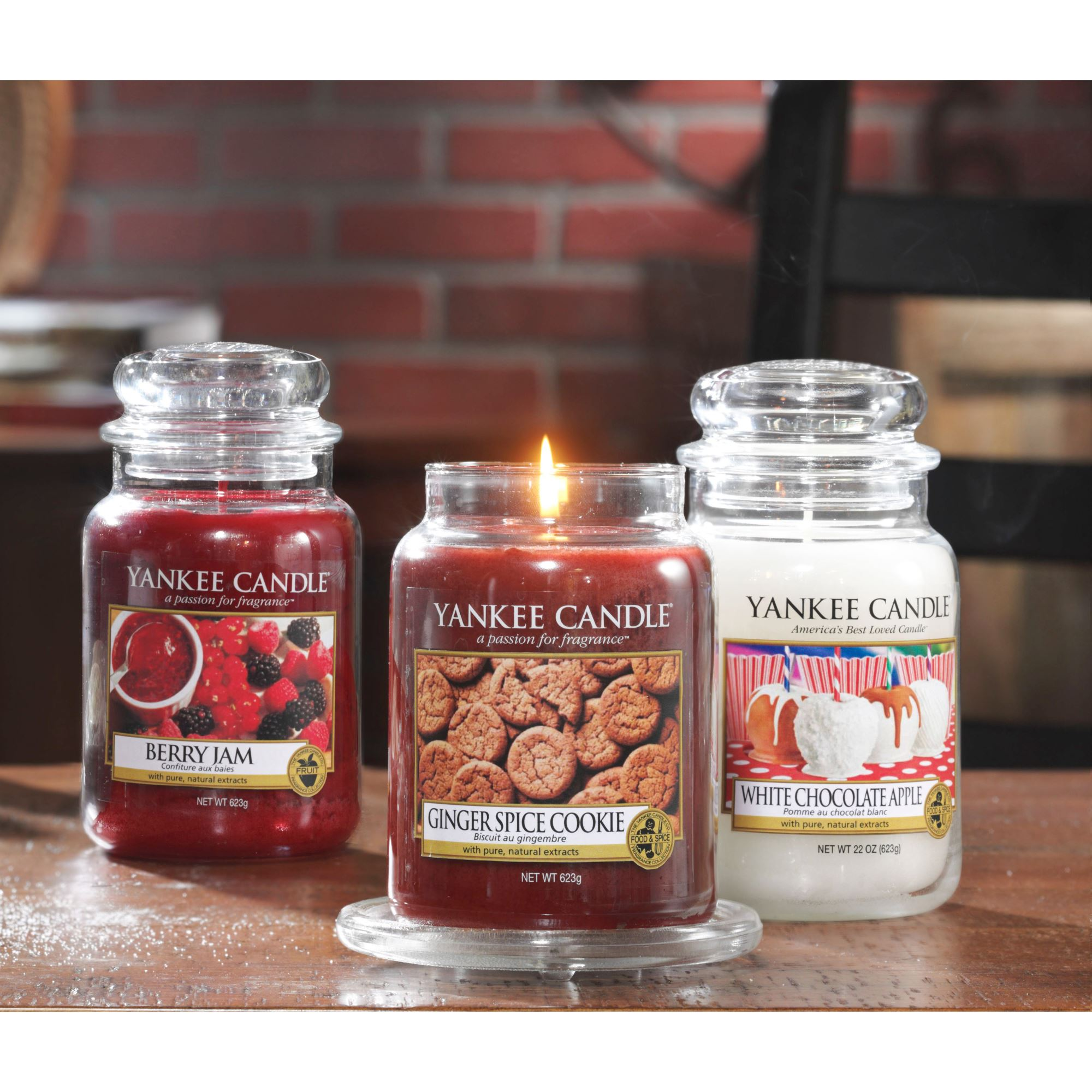 yankee candle gro e kerze berry jam 623 g duftkerze ebay. Black Bedroom Furniture Sets. Home Design Ideas