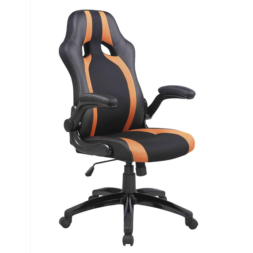 312 racing b rostuhl orange racer sport schalensitz. Black Bedroom Furniture Sets. Home Design Ideas