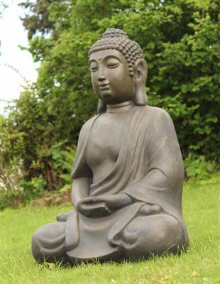 0911 riesige deko asien garten buddha figur statue. Black Bedroom Furniture Sets. Home Design Ideas