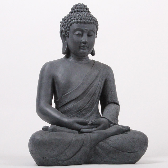 xxl 50 cm riesige deko asien garten buddha figur statue skulptur feng shui neu ebay. Black Bedroom Furniture Sets. Home Design Ideas