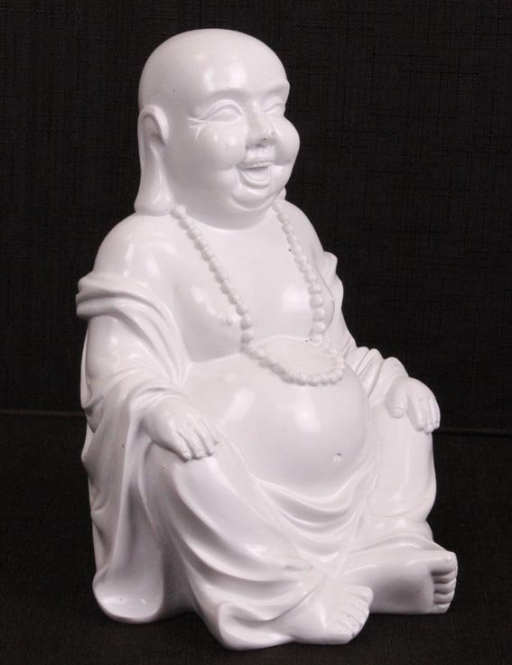 165 24cm deko buddha figur statue skulptur asien thailand feng shui neu ebay. Black Bedroom Furniture Sets. Home Design Ideas