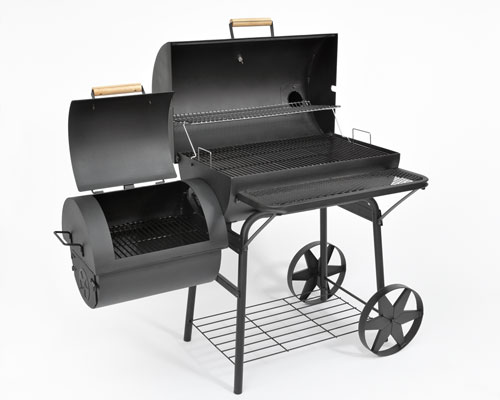 profi smoker grill lokomotive ca 90kg kleinster mobiler gasgrill. Black Bedroom Furniture Sets. Home Design Ideas