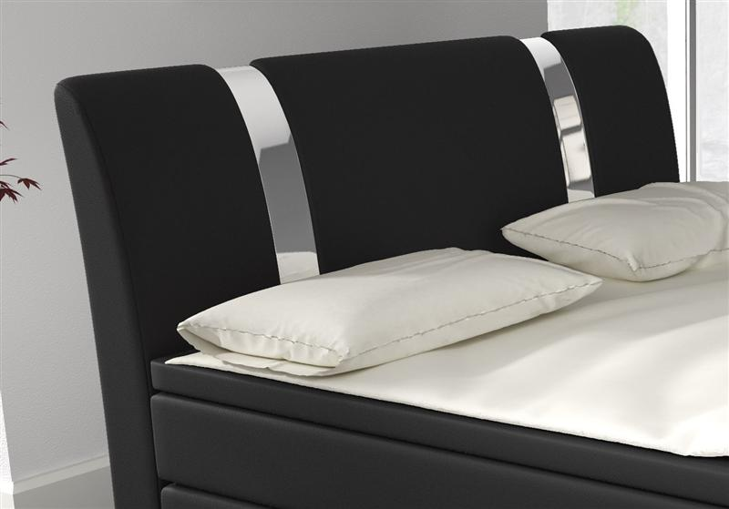 boxspringbett designerbett 140 x 200 cm hotelbett doppelbett ehebett topper ebay. Black Bedroom Furniture Sets. Home Design Ideas