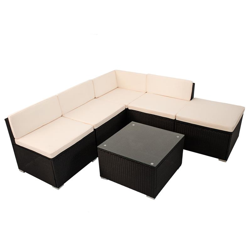 polyrattan gartenm bel lounge rattan gartenset poly sitzgruppe rattanm bel neu ebay. Black Bedroom Furniture Sets. Home Design Ideas