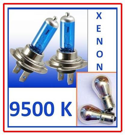 2st h7 100 watt xenon blue 9500k chrom blinker gratis ebay. Black Bedroom Furniture Sets. Home Design Ideas