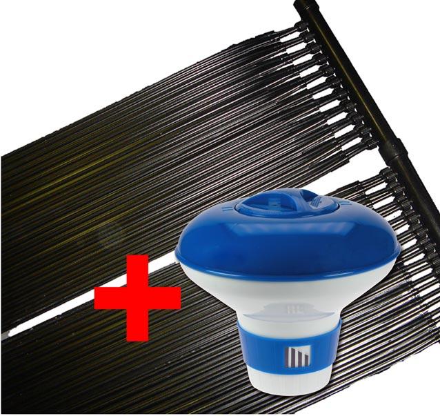 set pool solarheizung solar schwimmbad poolheizung chlor dispenser 0932 ebay. Black Bedroom Furniture Sets. Home Design Ideas