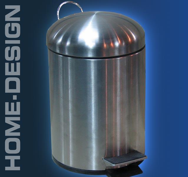 edelstahl design abfalleimer f r bad o k che 1210 ebay. Black Bedroom Furniture Sets. Home Design Ideas