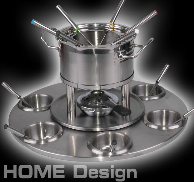 fondue set edelstahl karusell sauce topf 24tlg 1231 ebay. Black Bedroom Furniture Sets. Home Design Ideas