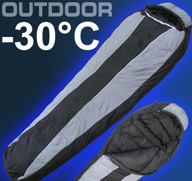30c extrem camping zelt schlafsack 2000g daunen 3123 ebay. Black Bedroom Furniture Sets. Home Design Ideas