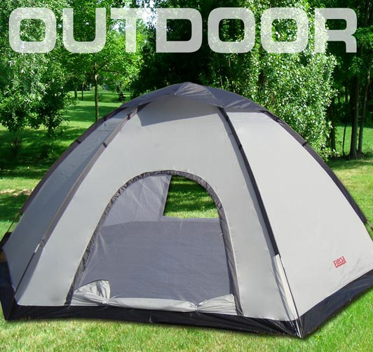 8 personen camping automatik schnellaufbau zelt 3164 ebay. Black Bedroom Furniture Sets. Home Design Ideas