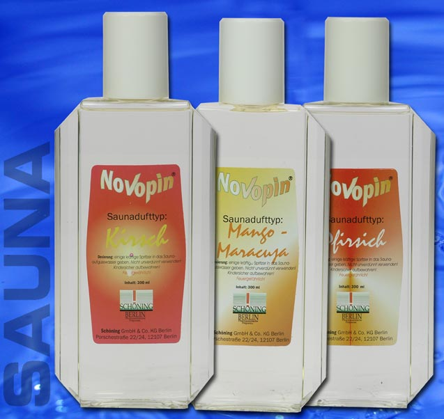 (25,54EUR/L) SET 3x300ml SAUNA Aufguß Konzent. FASHION 9941