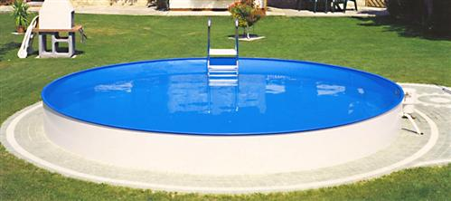 pool stahlwand becken schwimmbecken 6 00 x 1 20m rund ebay. Black Bedroom Furniture Sets. Home Design Ideas