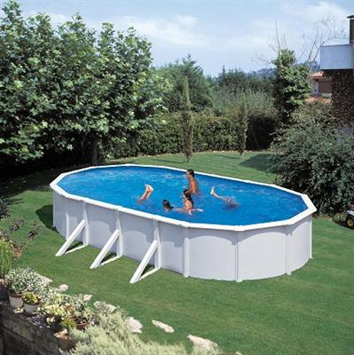 pool oval becken 7 3 x 3 7 x 1 35m stahlwand komplettset schwimmbecken ebay. Black Bedroom Furniture Sets. Home Design Ideas