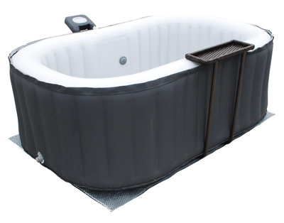 luxus jacuzzi indoor outdoor mspa alpine whirlpool mspa aufblasbar spa heizung ebay. Black Bedroom Furniture Sets. Home Design Ideas