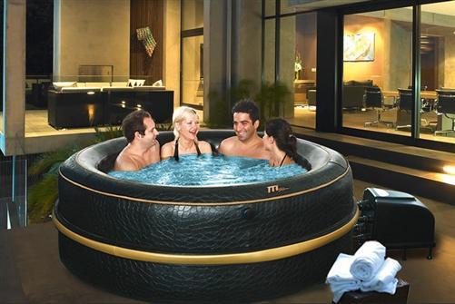 Luxory jet spa j 213 f r 6 personen 4 jahreszeiten luxus 2 - Whirlpool temperatur sommer ...
