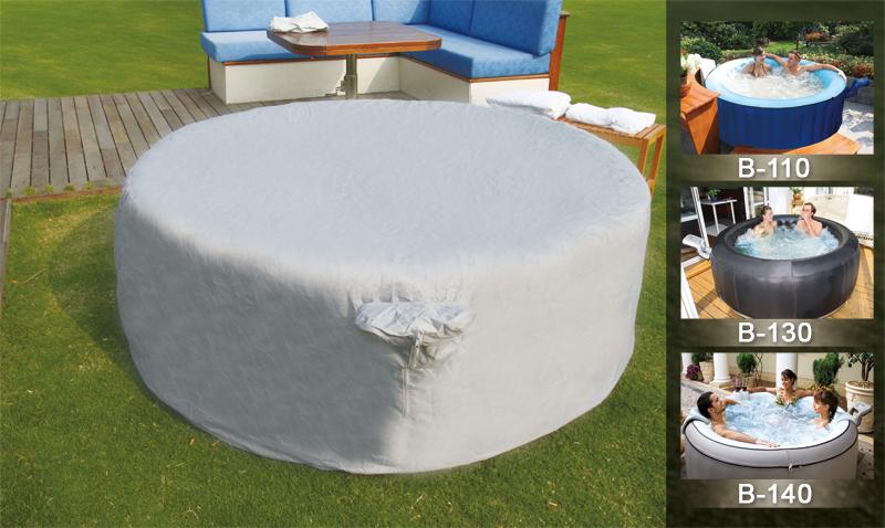 schutzh lle cover abdeckung jacuzzi whirlpool mspa neu ebay. Black Bedroom Furniture Sets. Home Design Ideas