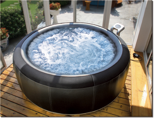 luxus jacuzzi mspa whirlpool badewanne aufblasbar mit heizung bubble spa b 150 ebay. Black Bedroom Furniture Sets. Home Design Ideas