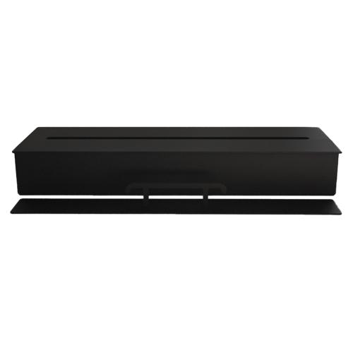 ethanol gel beh lter stahl schwarz f r kamin tisch bioethanol brenner 5l 50 cm ebay. Black Bedroom Furniture Sets. Home Design Ideas