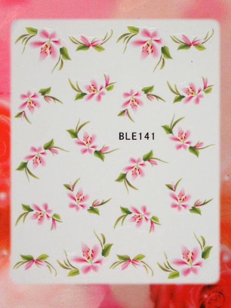 Nail Art STICKER Blumen Motiv Malerei Design #BLE141