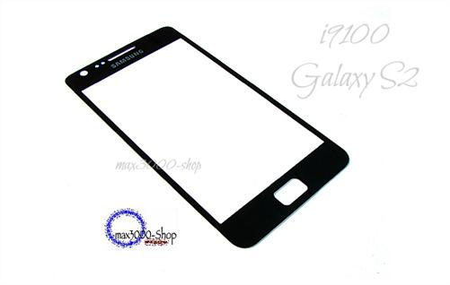 Original Samsung i9100 Galaxy S2 Touchscreen Displayglas schwarz