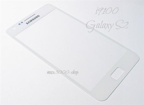 Original Samsung i9100 Galaxy S2 Touchscreen Displayglas weiss