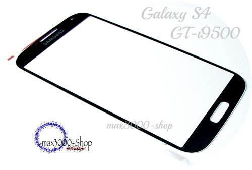 Original Samsung Galaxy S4 i9500 Touchscreen Displayglas schwarz