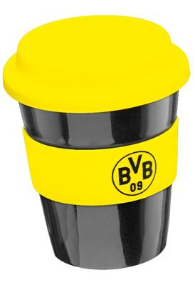kaffee becher emblem tasse thermobecher borussia. Black Bedroom Furniture Sets. Home Design Ideas