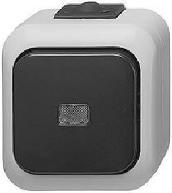 busch j ger 2006 6 ws wechselschalter ip44 aufputz neu ebay. Black Bedroom Furniture Sets. Home Design Ideas
