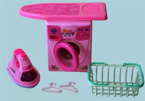 kinder waschmaschine und b geleisen mit funktion spielzeug b gelbrett korb. Black Bedroom Furniture Sets. Home Design Ideas