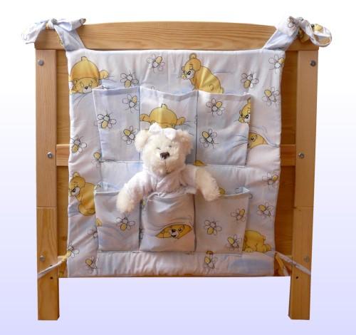 betttasche spielzeugtasche f r kinderbett neu ebay. Black Bedroom Furniture Sets. Home Design Ideas
