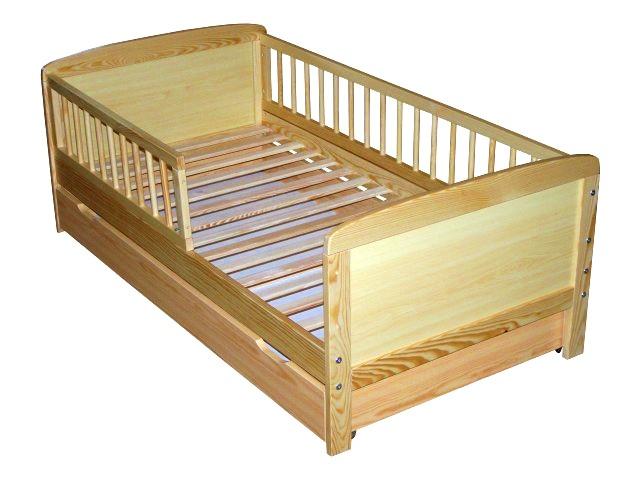 kinderbett juniorbett massivholz 140x70cm neu ebay. Black Bedroom Furniture Sets. Home Design Ideas