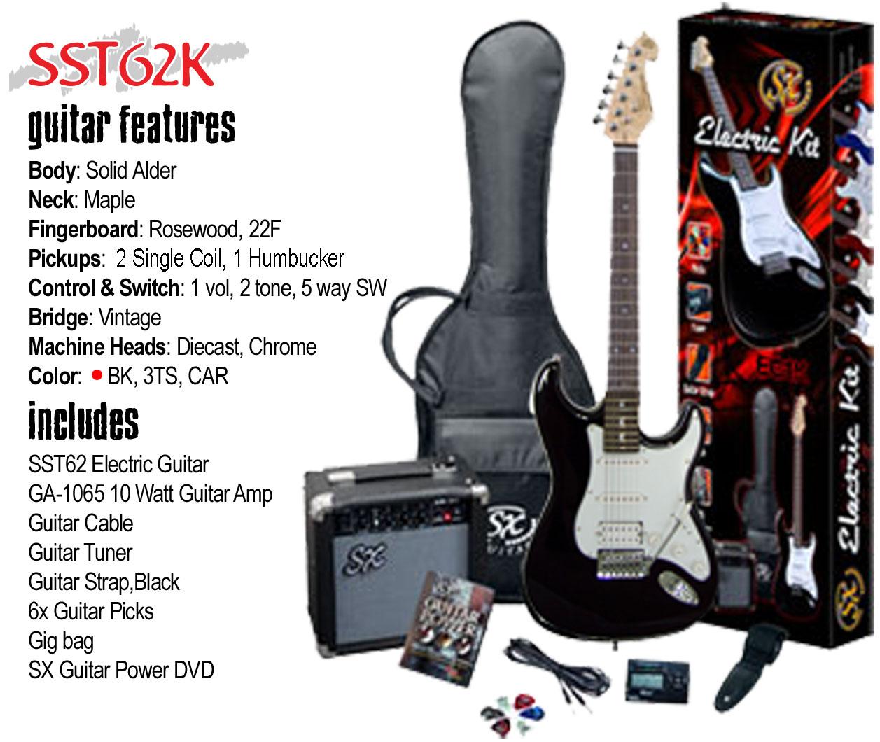 SX E-Gitarrenset EG-1K, 179,00 €