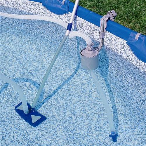 reinigungsset sauger skimmer quickup pool reiniger ebay. Black Bedroom Furniture Sets. Home Design Ideas