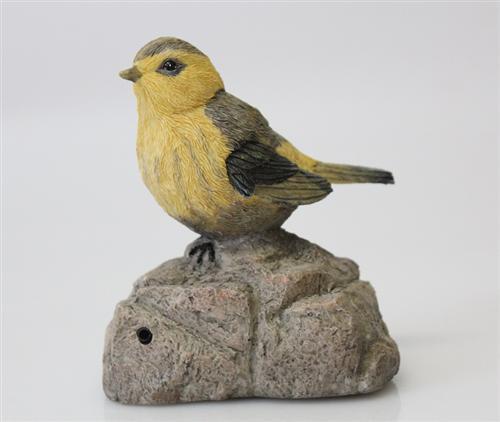 pfeifender vogel mit sensor zwitschern bewegungsmelder. Black Bedroom Furniture Sets. Home Design Ideas
