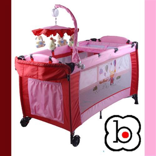 babygo sleeper enfants b b lit de voyage lit parc neuf deluxe rose ebay. Black Bedroom Furniture Sets. Home Design Ideas