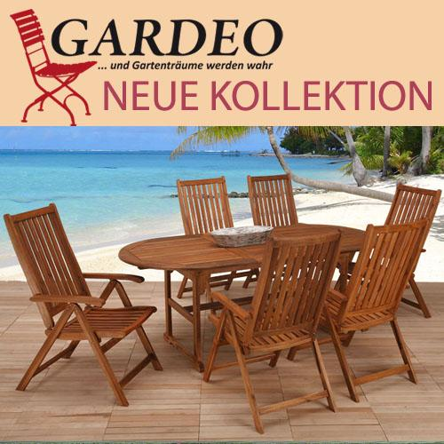 gardeo holz gartenm bel wie teak hawaii neu. Black Bedroom Furniture Sets. Home Design Ideas