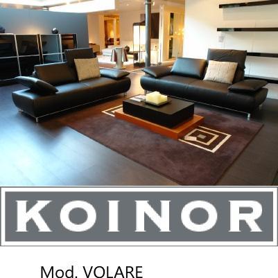 koinor volare bavero 2 sofas leder schwarz ebay. Black Bedroom Furniture Sets. Home Design Ideas