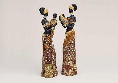 2 afrikanische massai mit baby frauen 35cm skulptur afrikanerin edle figuren eur 32 00. Black Bedroom Furniture Sets. Home Design Ideas